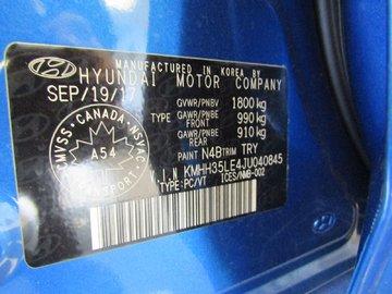 2018 Hyundai Elantra GT GLS 2.0L 4 CYL AUTOMATIC FWD 5D HATCHBACK