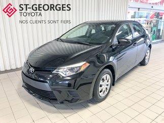 2014 Toyota Corolla CE,BAS KILOMÉTRAGE,DEMAREUR A DISTANCE