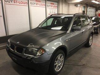 BMW X3 2.5i 2006