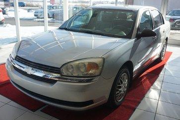 2004 Chevrolet Malibu LS-V6-ANTIROUILLE TOUS LES ANS DEPUIS 2005