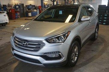 2017 Hyundai Santa Fe Sport SE-AWD-CUIR-TOIT PANO-BLUETOOT-JAMAIS ACCIDENTÉ