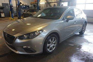 Mazda Mazda3 GX-HATCH BACK-UN SEUL PROPRIO-BLUETOOTH-A/C 2015