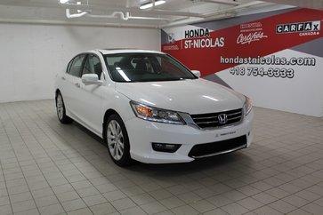 2014 Honda Accord Sedan Touring + GPS + CUIR + TOIT + AILERON