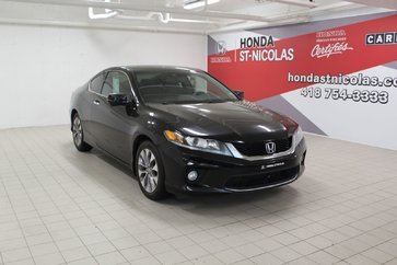 2014 Honda Accord EX-L + GPS + CUIR + TOIT + PUSH START + CAMÉRA