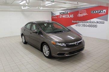 2012 Honda Civic Sdn EX + TRES BAS KM