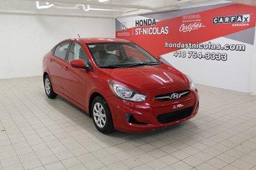 Hyundai Accent + BLUETOOTH + SIÈGES CHAUFFANTS + CRUISE + CLIM 2014