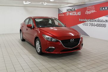 2014 Mazda Mazda3 GS-SKYACTIV + GPS + CAMÉRA + SIÈGES CHAUFFANTS