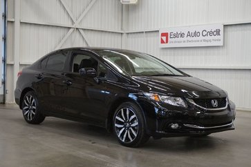 Honda Civic Sedan Touring (cuir-caméra-toit-navi) 2015