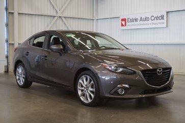 Mazda Mazda3 Skyactiv (caméra-toit-navi-cuir) 2014
