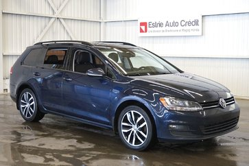 Volkswagen Golf Sportwagon Sportwagen (caméra-toit pano-navi-cuir) 2016