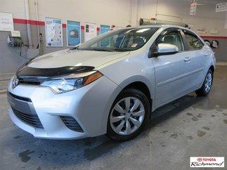 Toyota Corolla LE Gr:A *GARANTIE PROLONGÉE* 2015