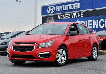 2016 Chevrolet Cruze LS     **12,391 KM**