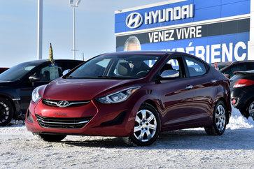 Hyundai Elantra GL  **DEMARREUR A DISTANCE** 2014