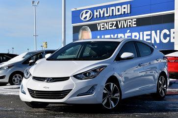 2015 Hyundai Elantra Limited GPS+CUIR+TOIT..10,609KM..