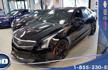 Cadillac ATS-V SEDAN 3.6L TWIN TURBO PREMIUM RWD (1SV) 3.6 L BI -TURBO* ENSEMBLE CARBON*special demo 2016