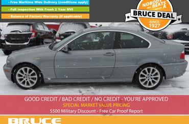 2005 BMW 3 Series 325Ci 2.5L 6 CYL 5 SPD MANUAL RWD 2D COUPE | Photo 1