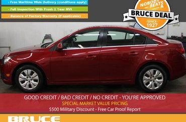 2012 Chevrolet Cruze LT 1.4L 4 CYL TURBOCHARGED AUTOMATIC FWD 4D SEDAN | Photo 1