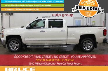2014 Chevrolet Silverado 1500 LTZ 5.3L 8 CYL AUTOMATIC 4X4 CREW CAB | Photo 1