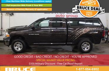 2011 Dodge RAM 1500 ST 4.7L 8 CYL AUTOMATIC 4X4 QUAD CAB | Photo 1