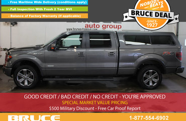 2013 Ford F-150 FX4 3.5L 6 CYL ECOBOOST AUTOMATIC 4X4 SUPERCREW | Photo 1