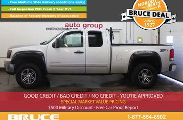 2011 GMC Sierra 1500 SL 4.8L 8 CYL AUTOMATIC 4X4 EXTENDED CAB | Photo 1