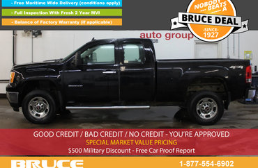 2011 GMC SIERRA 2500 HD WT 6.0L 8 CYL AUTOMATIC 4X4 EXTENDED CAB | Photo 1