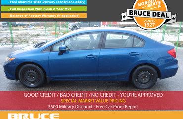 2012 Honda Civic EX 1.8L 4 CYL i-VTEC AUTOMATIC FWD 4D SEDAN | Photo 1