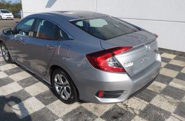 2016 Honda Civic LX 2.0L 4 CYL I-VTEC CVT FWD 4D SEDAN