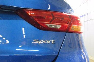 2018 Hyundai Elantra SPORT 1.6L 4 CYL AUTOMATIC FWD 4D SEDAN