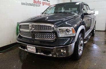 2013 Dodge RAM 1500 Laramie 5.7L 8 CYL HEMI AUTOMATIC 4X4 QUAD CAB