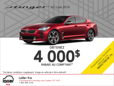 La Kia Stinger 2019
