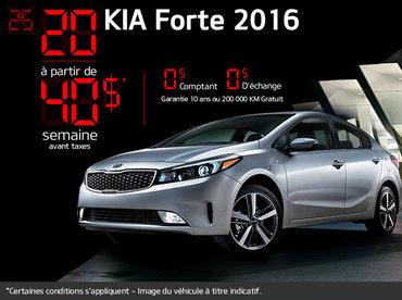 Kia Forte 2016 en rabais