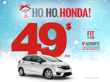On s'emballe pour Honda - Fit