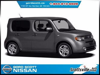 2012 Nissan Cube S, Cloth, CVT, Low KM, Roomy, Unique Style!