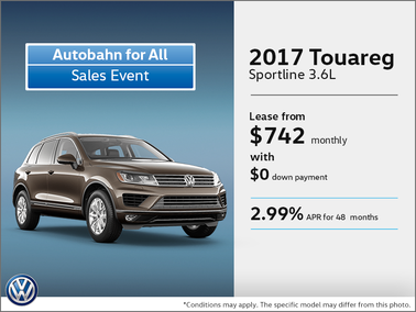 Get the 2017 Touareg Today!