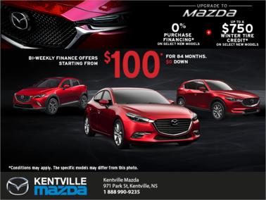 Mazda - Upgrade to Mazda