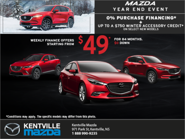 Mazda - The Mazda Year End Event!