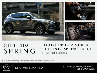 Mazda - Shift into Spring