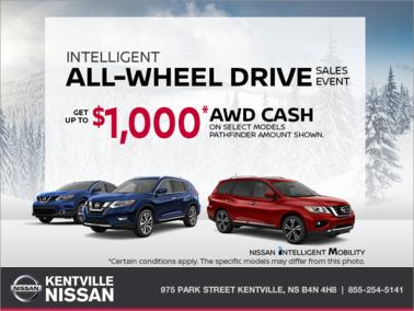Nissan - Intelligent All-Wheel Drive Sales Event