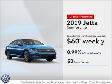 Lease the 2019 Jetta!