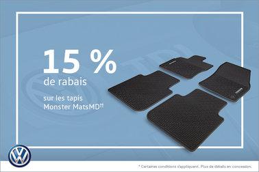 Rabais sur les Monster Mats!
