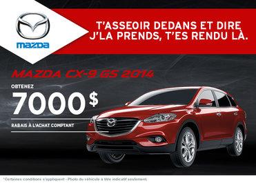 Le nouveau Mazda CX-9 2014: Rabais de 7000$