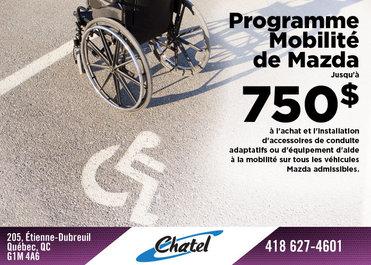 Programme Mobilité de Mazda