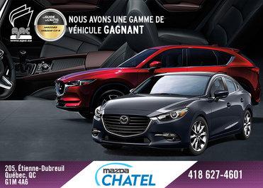Véhicules gagnants chez Mazda Chatel