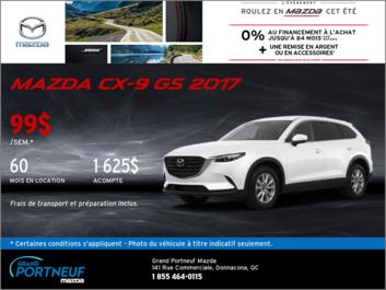 Louez la Mazda CX-9 2017!