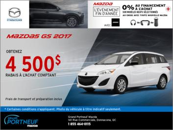 La Mazda5 GS 2017