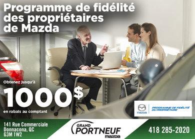 Programme de fidélité des propriétaires Mazda