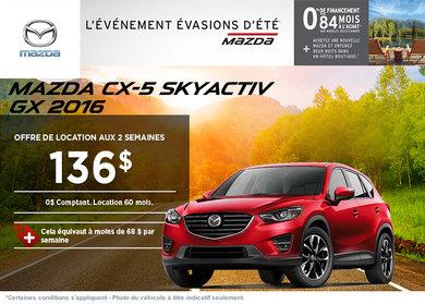 Louez la Mazda CX-5 GX 2016