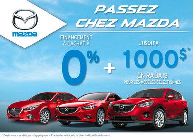 L'événement passez chez Mazda!