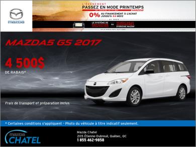 La toute nouvelle Mazda5 2017